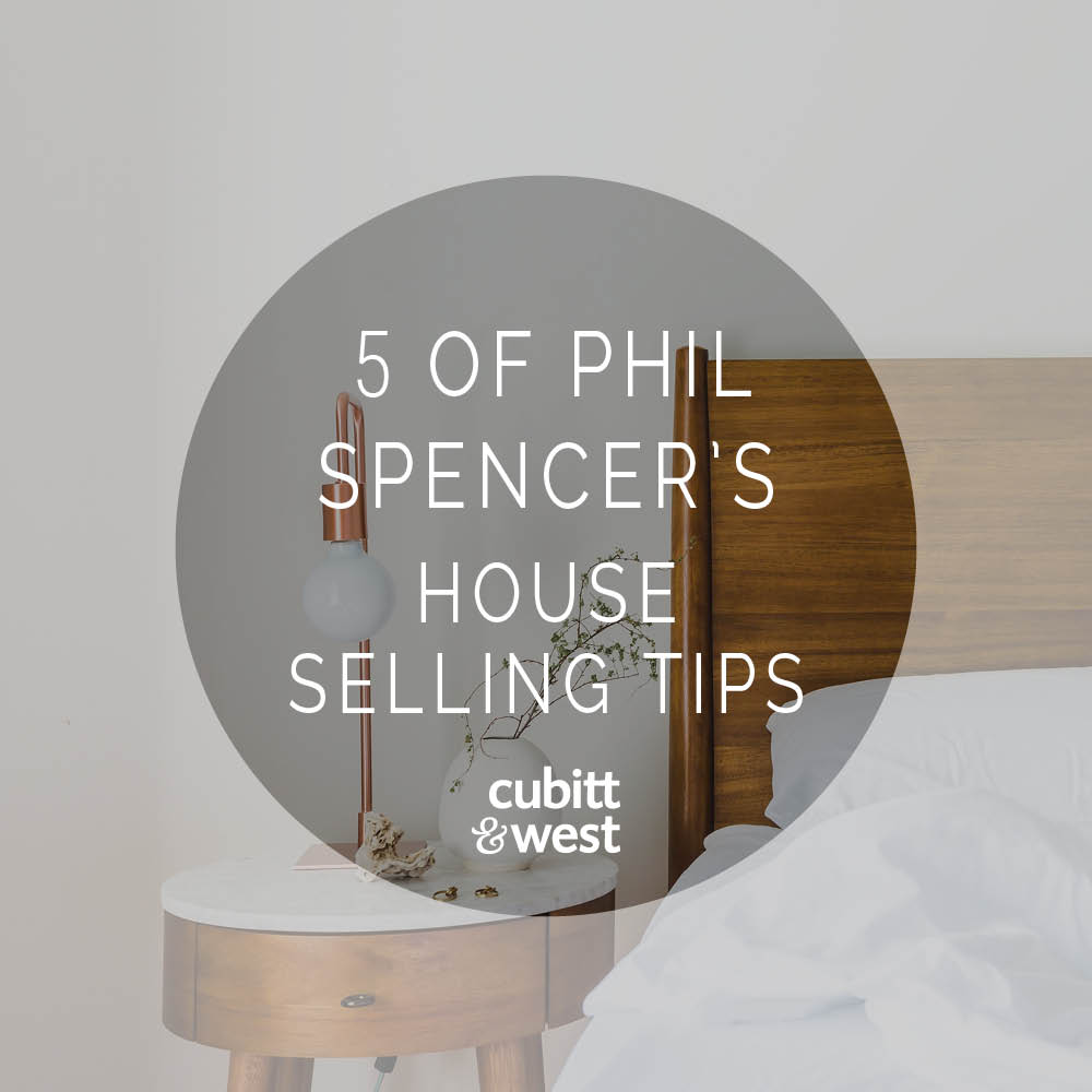 5 of Phil Spencer's House Selling Tips