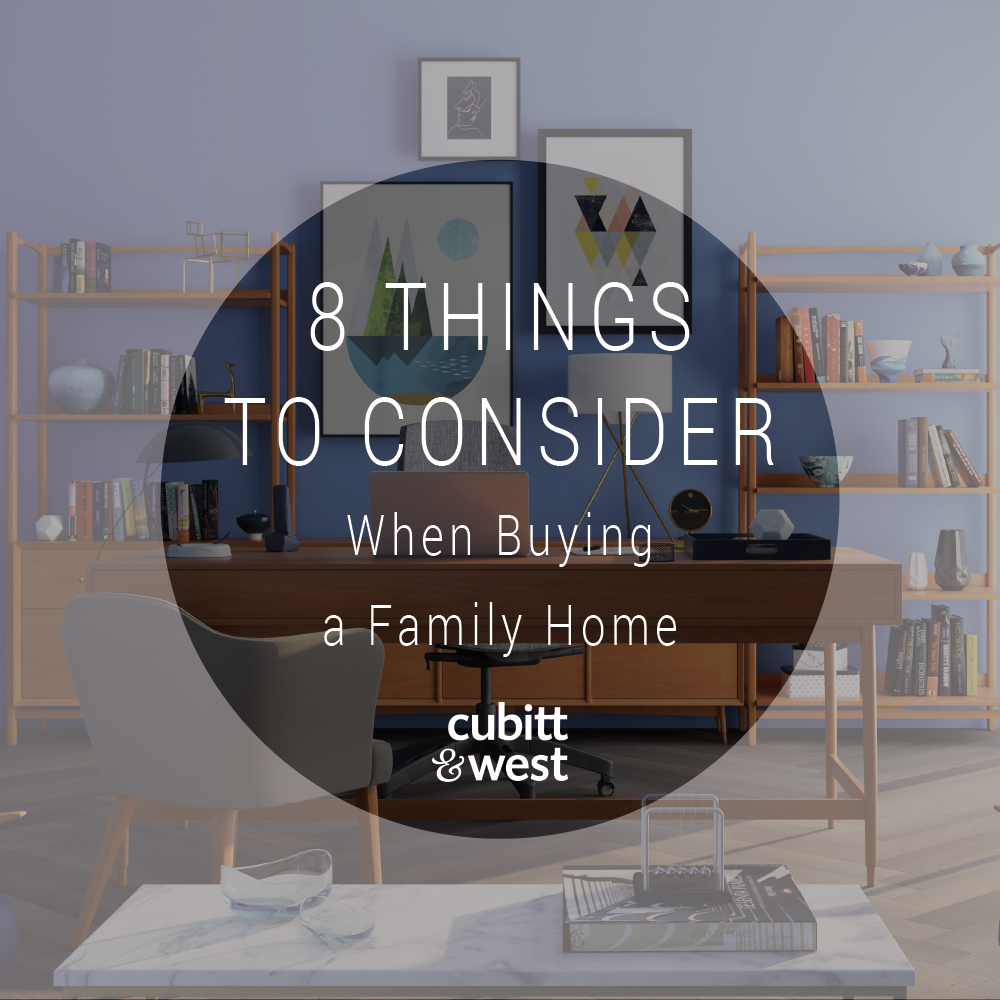 8 Things to Consider When Buying a Family Home