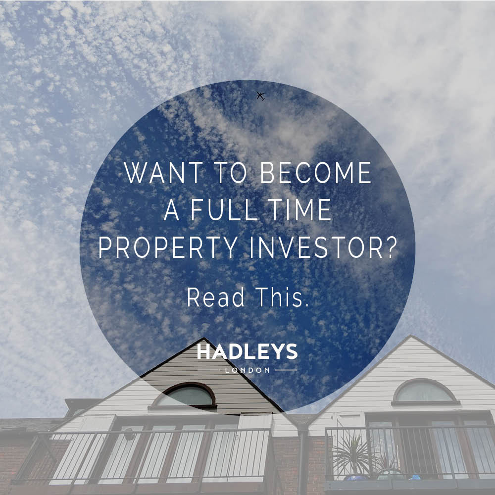 Want to Become a Full Time Property Investor?