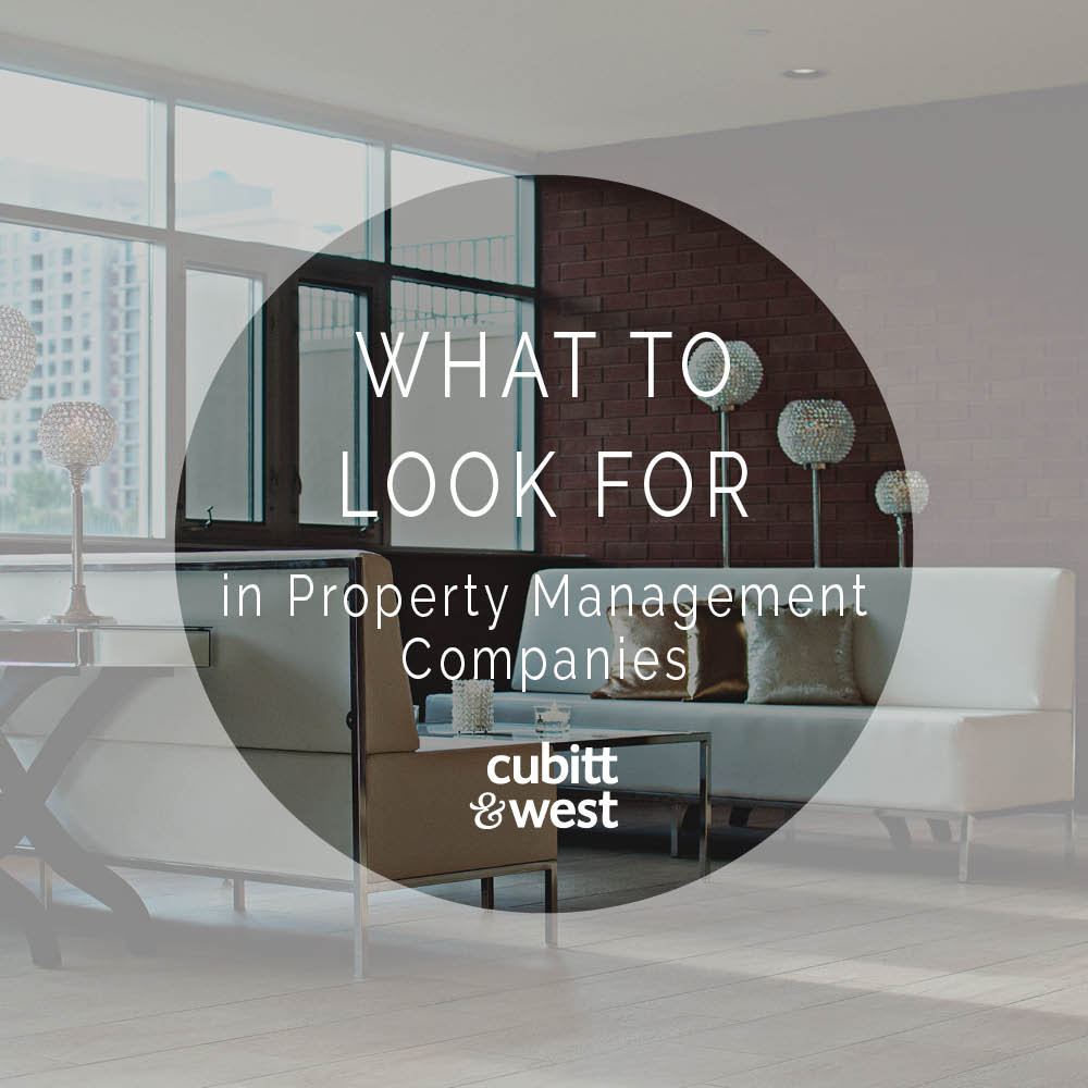 5 Things to Look For in Property Management Companies