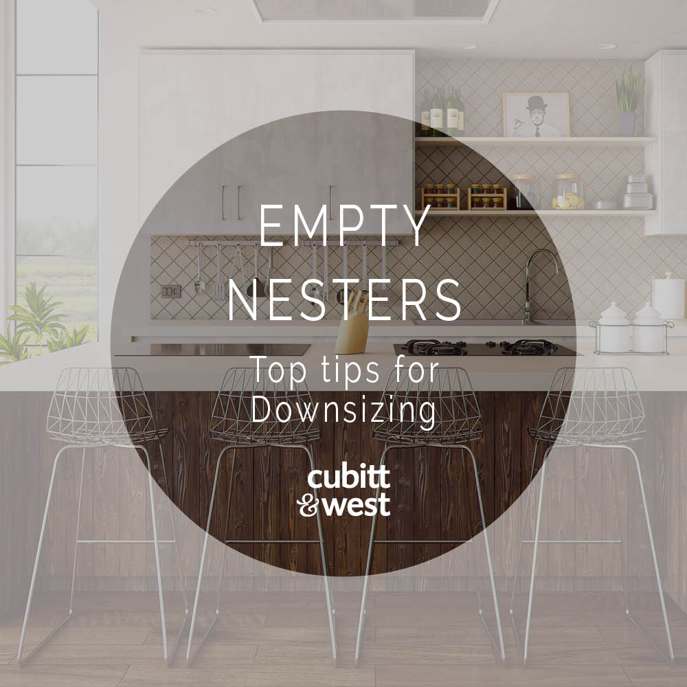 Empty Nesters – Top Tips for Downsizing