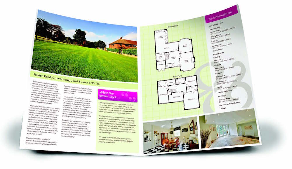 Professional property brochures