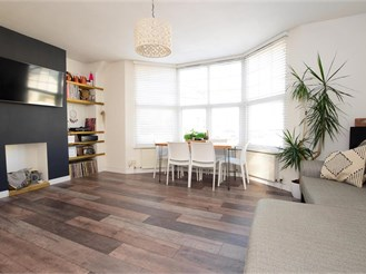 2 bedroom top floor maisonette in Brighton
