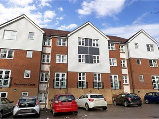 1 bedroom top floor retirement flat in Heathfield