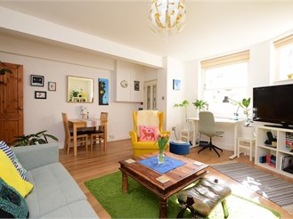 1 bed basement converted flat in Brighton