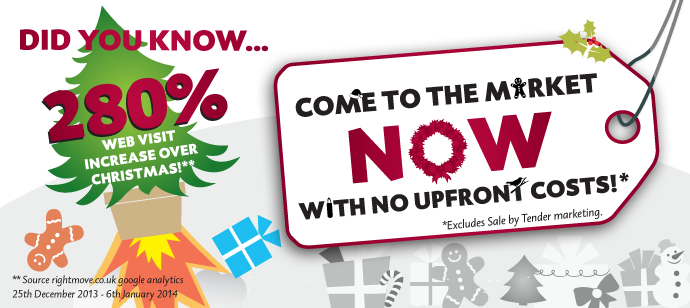 Come to market now with now upfront costs with our Christmas offer