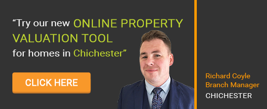 Online Valuation Tool website banner Chichester
