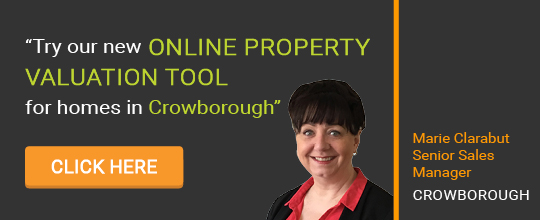 Online Valuation Tool website banner Crowborough
