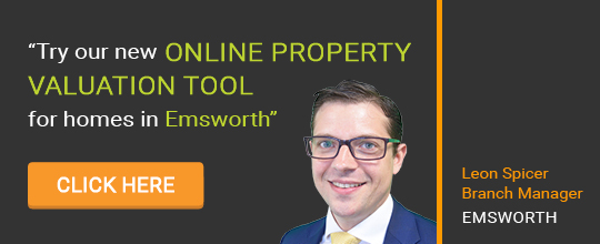 Online Valuation Tool website banner Emsworth