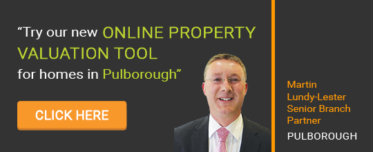 Online Valuation Tool website banner Pulborough