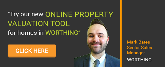 Online Valuation Tool website banner Worthing